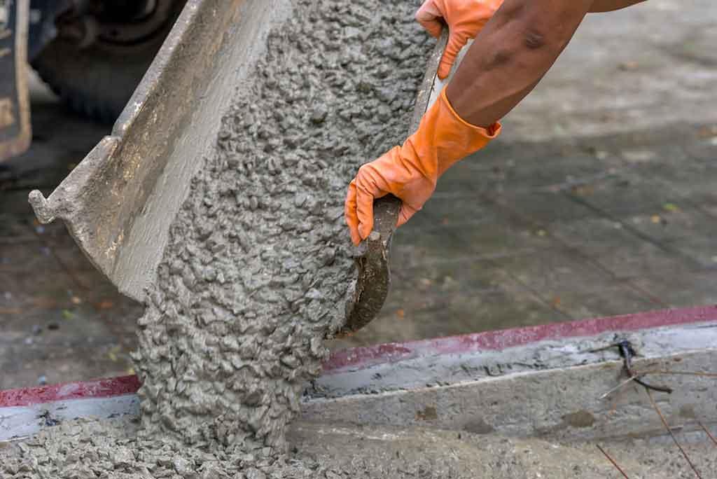 Chesapeake Concrete - Concrete Pouring